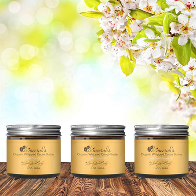 Organic Cocoa Body Butter - Sample Kit Ameerah's Naturals