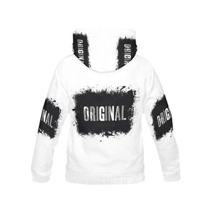 original slogan All Over Print Hoodie for Women (USA Size) (Model H13) - Ugly Station