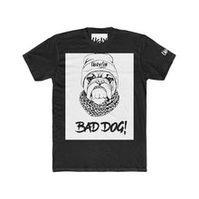 Bad Dog Men's Cotton Crew Tee - Ugly Station