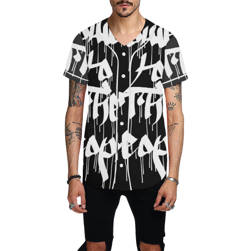 power All Over Print Baseball Jersey for Men (Model T50) - Ugly Station
