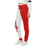 UglyBae Red pants Women's All Over Print Sweatpants (Model L11) - Ugly Station