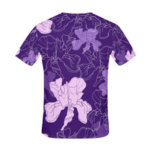 Seamless Pattern with Flowers All Over Print T-Shirt for Men (USA Size) (Model T40) - Ugly Station