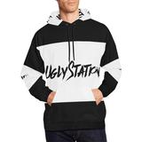 uglystation All Over Print Hoodie for Men/Large Size (USA Size) (Model H13) - Ugly Station