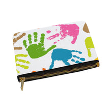 Finger Prints Carry-All Pouch 8''x 6'' - Ugly Station