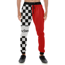 checkmate Men's All Over Print Sweatpants (Model L11) - Ugly Station