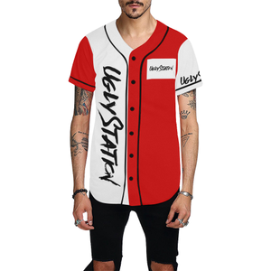 wally All Over Print Baseball Jersey for Men (Model T50) - Ugly Station