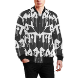 power Men's All Over Print Baseball Jacket (Model H26) - Ugly Station