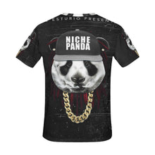 Panda All Over Print T-Shirt for Men (USA Size) (Model T40) - Ugly Station