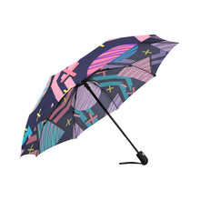 Mix of Pop Art Scandinavian Styles Auto-Foldable Umbrella (Model U04) - Ugly Station