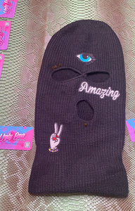 Fortune Teller Patch Ski Mask