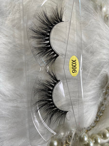 Black Dress Mink Eyelashes