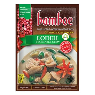 Bamboe Lodeh 54g - Oriental Vegetable Stew