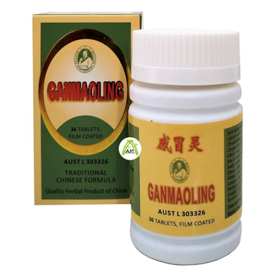 Zhang Zhong Jing Gan Mao Traditional Chinese Formula 36 tablets for Cold Flu Cough