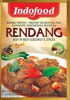 Indofood Bumbu Rendang 50g - Seasoning for Beef in Rich Coconut & Spices