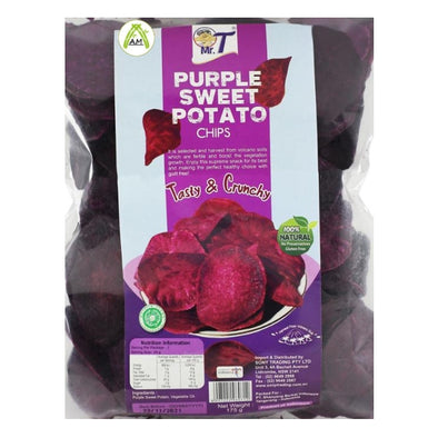 Mr. T Purple Sweet Potato Chips - Kripik Ubi Ungu