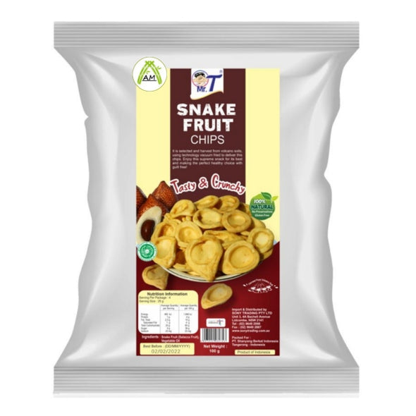 Mr. T Snake Fruit Chips - Kripik Salak
