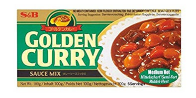 S&B Golden Curry Medium Hot 240g