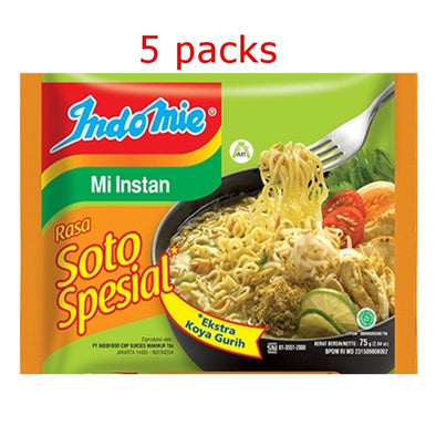 Indomie Rasa Soto Special Extra Koya Gurih 75g - Indomie Soto Special Flavour Instant Noodles