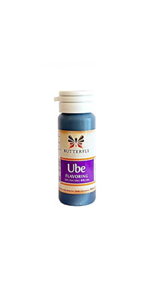 Butterfly Ube Flavour Paste 30ml - Butterfly Taro Flavour Paste