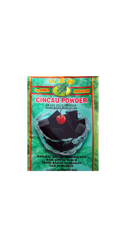 Agar Agar Cincau Powder 33g - Grass Jelly Powder