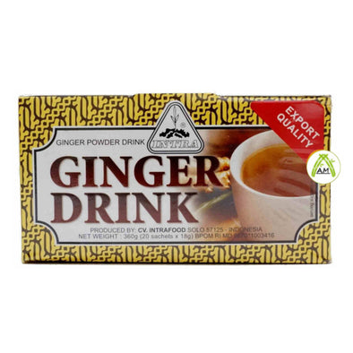 Intra Jahe Wangi 20x18g - Intra Ginger Tea