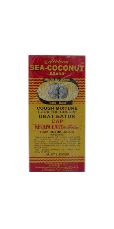 African Sea Coconut Brand Cough Mixture 177ml