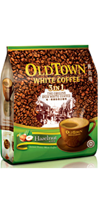OldTown White Coffee 3in1 Hazelnut 15x40g - 600g