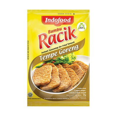 Indofood Racik Tempe Goreng 20g - Instant Seasoning for Fried tempeh