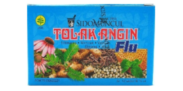 Tolak Angin Sidomuncul Herbal Medicine - Tolak Angin Flu