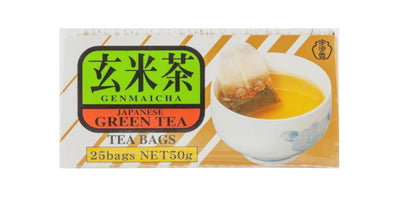 Uji No Tsuyu Japanese Green Tea with Roasted Rice Genmaicha 2g x 20 bags