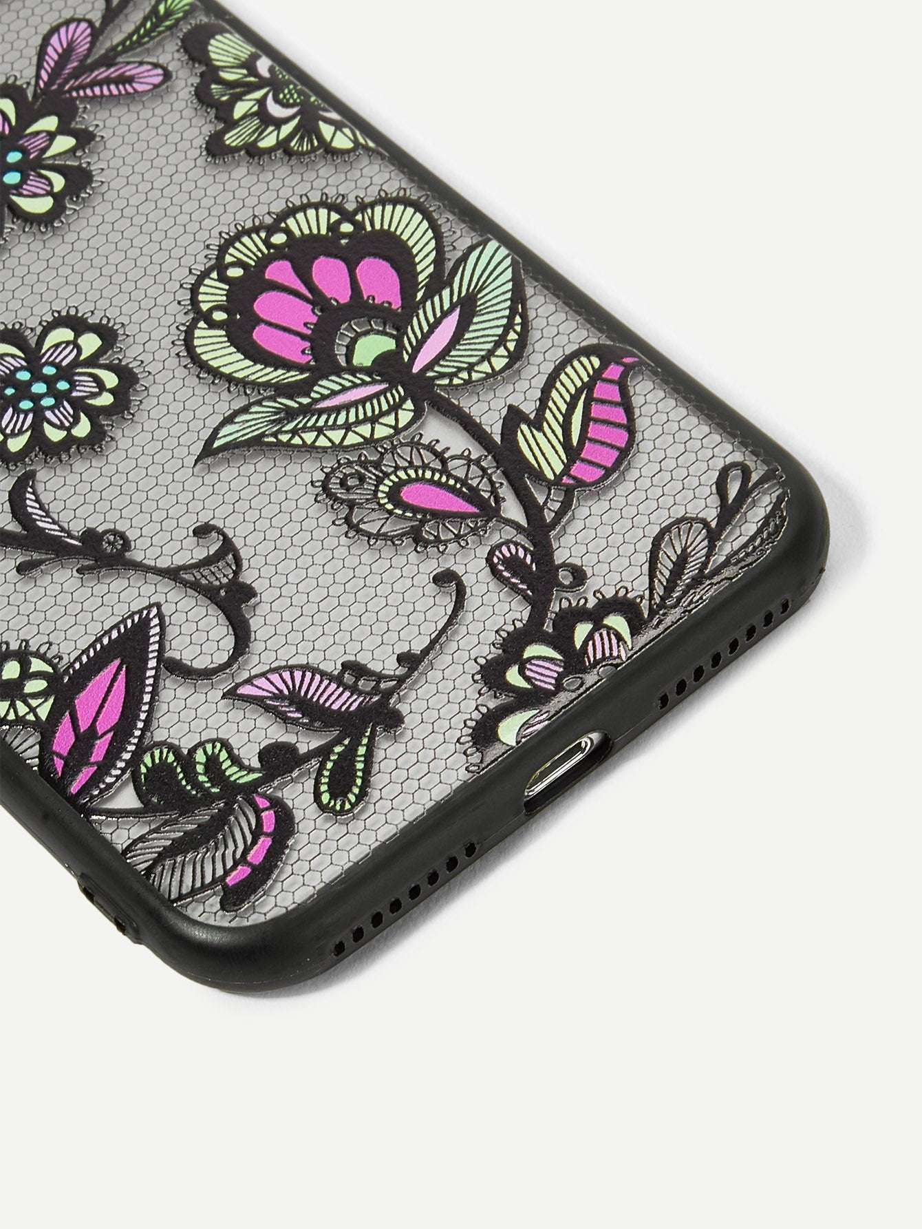 Flower Pattern iPhone Case - BrandsGuru