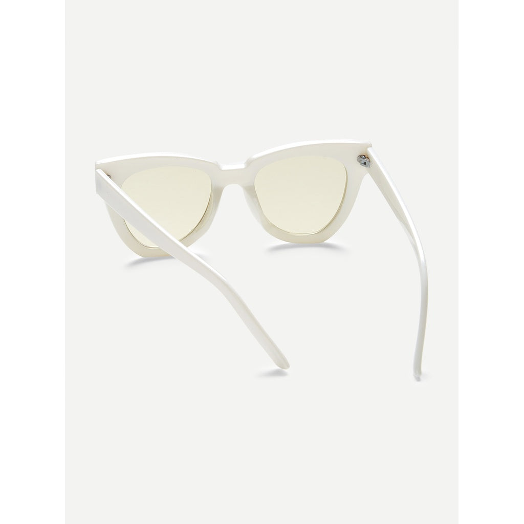New Sexy Casual Chunky Frame Cat Eye Sunglasses