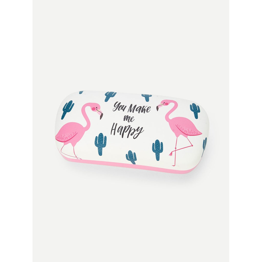 New Elegant Flamingo Design Glasses Case