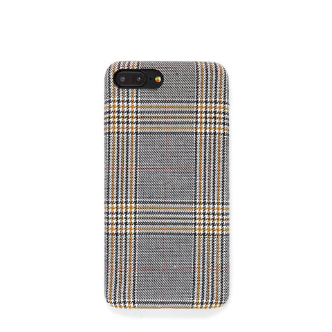 Gingham Pattern Style iPhone Case