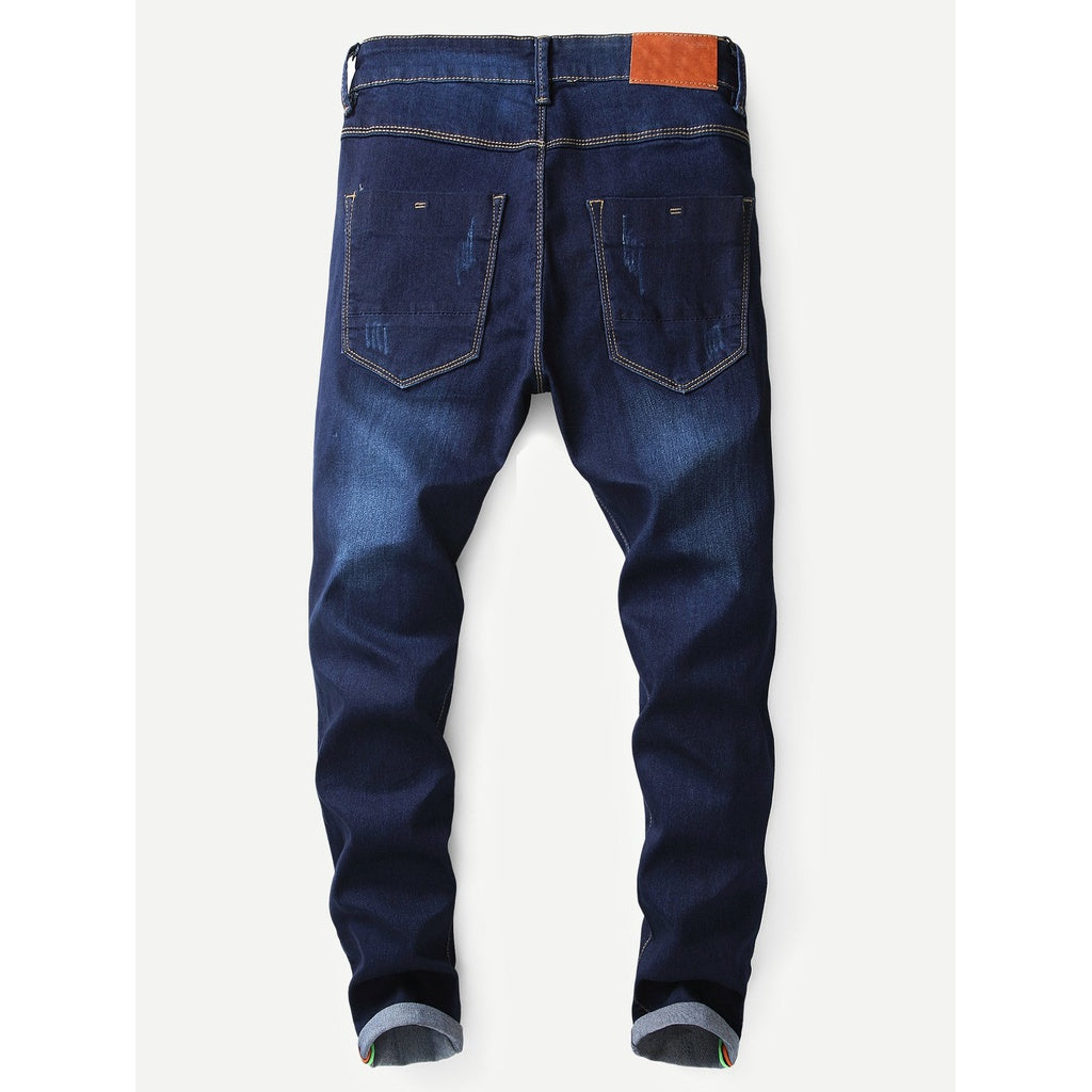New Men Ruff and Tuff Washed Skinny Jeans - BrandsGuru
