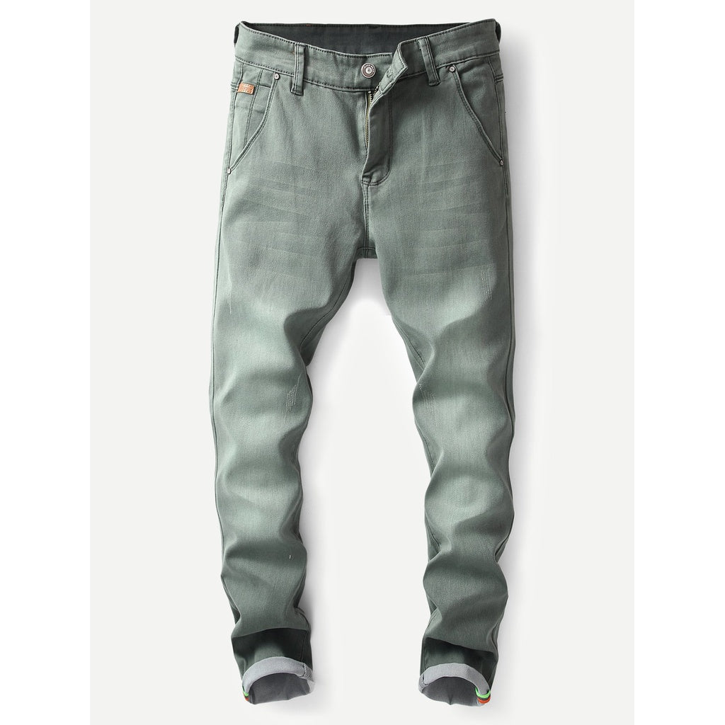 Men Ruff and Tuff Style Washed Skinny Jeans - BrandsGuru