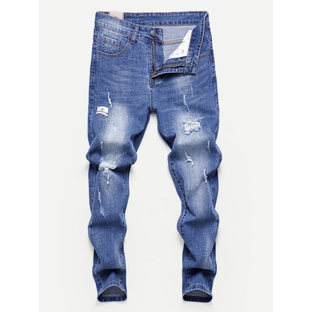 Men Ruff and Tuff Washed Skinny Jeans