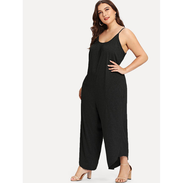 Beautiful Drop Crotch Cami Jumpsuit