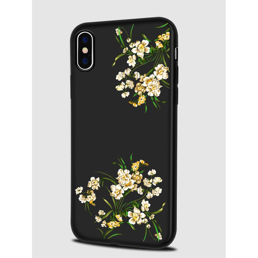 Elegant Calico Pattern Style iPhone Case
