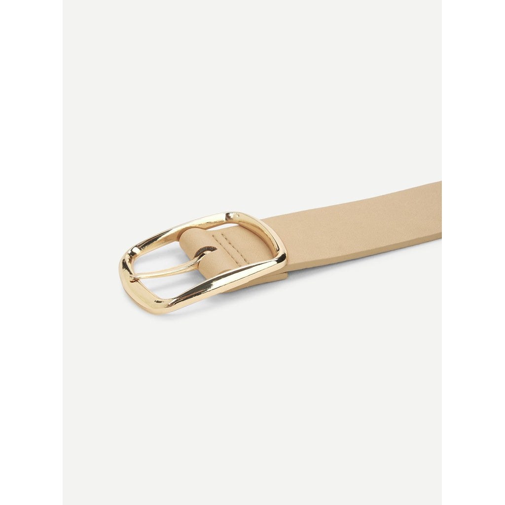 New Casual Style Metal Buckle Belt