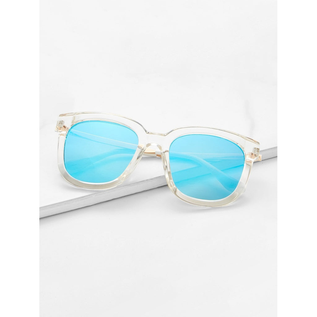 Trendy Summer Style Mirror Lens Sunglasses - BrandsGuru