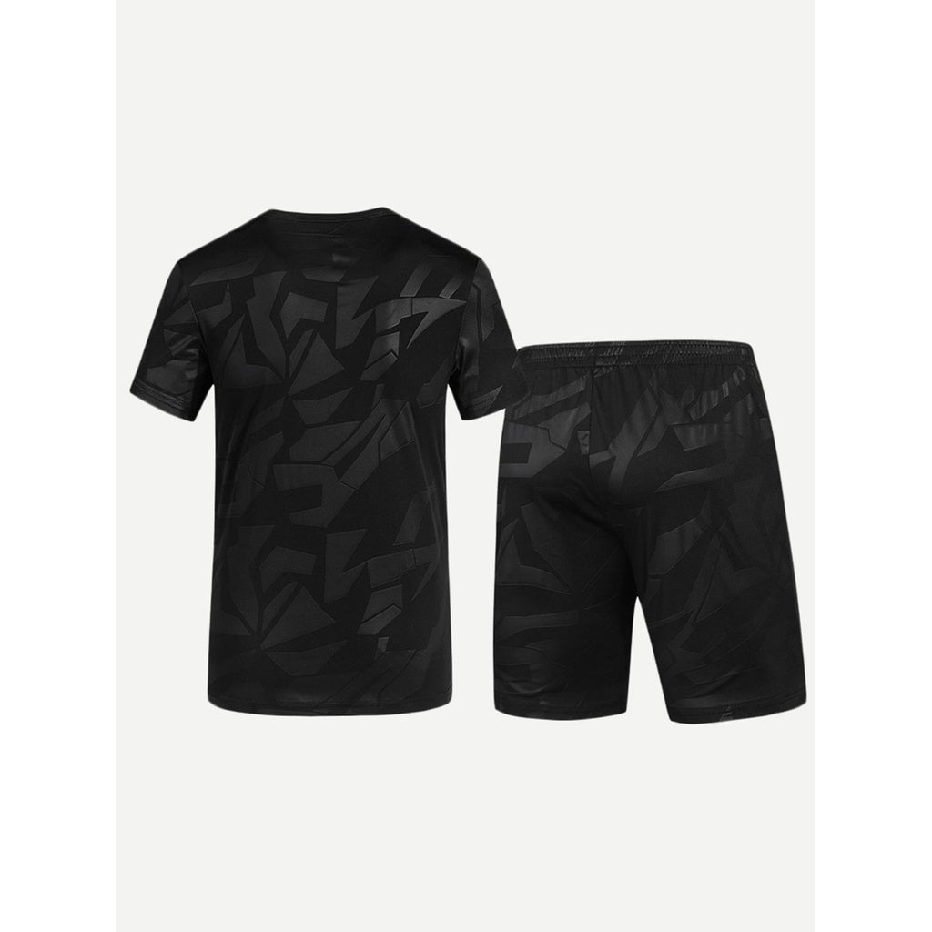 New Sublime Men Solider Basic Tee With Shorts