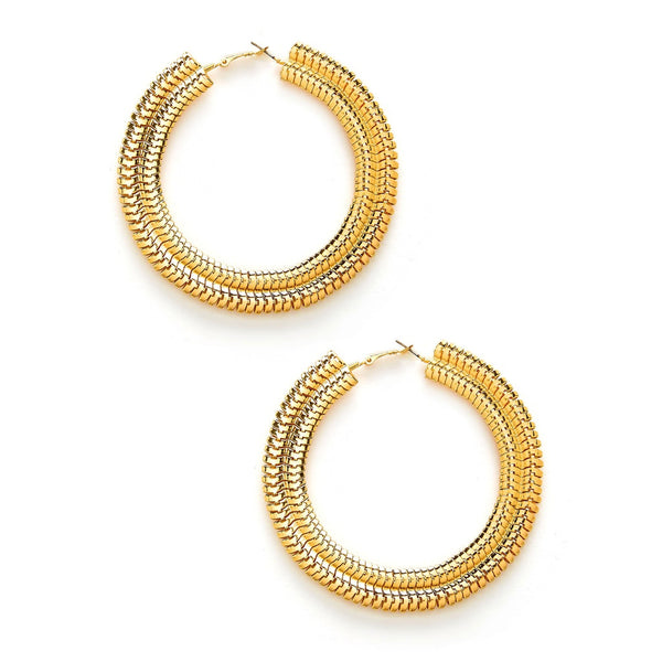 New Sublime Big Circle Style Hoop Earrings