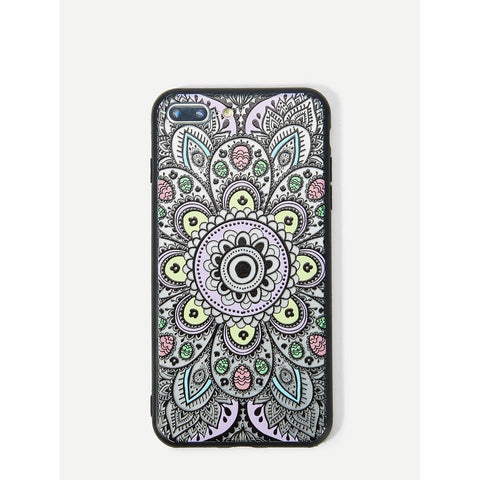 New Hollow Lotus Pattern iPhone Case