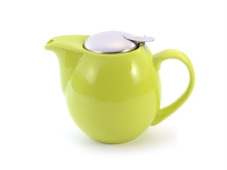 """Our Choice"" Lime Green filter teapot - 0.9L"