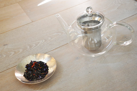 Glass teapot with integral infuser | High Teas