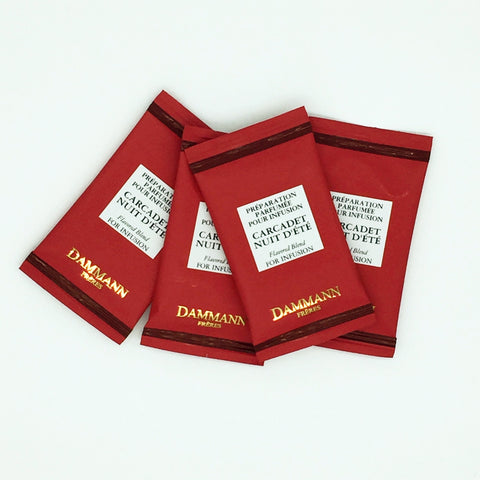 Dammann - Carcadet Nuit D'ete - 24 Individually Wrapped Tea Bags