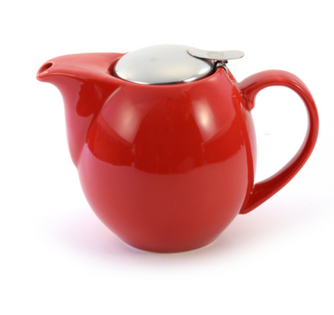 """Our Choice"" Red filter teapot - 0.9L"