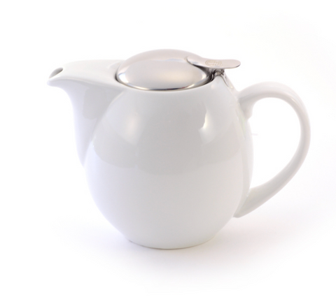 """Our Choice"" White filter teapot - 0.9L"