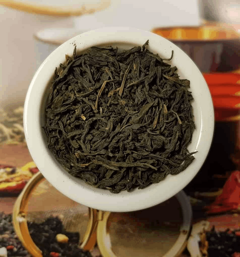 Green loose leaf tea with Seaweed | High Teas London